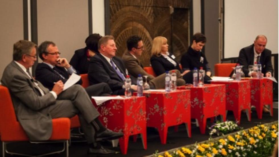 panel speakers at the International Conference