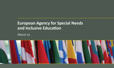 cover of the European Agency for Special Needs and Inclusive Education - About us