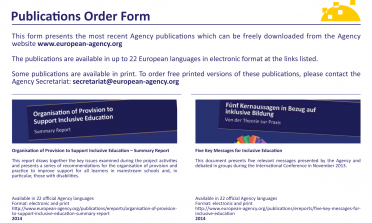 image of the Publications Order Form 2016