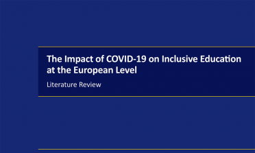 Cover of the COVD-19 literature review