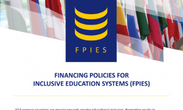 image of the Financing Policies for Inclusive Education Systems flyer