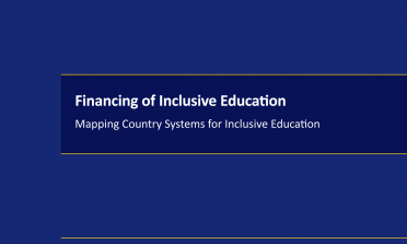 cover of Financing of Inclusive Education: Mapping Country Systems