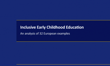 cover of Inclusive Early Childhood Education: An analysis of 32 European examples