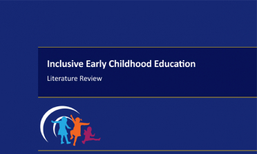 cover of the Inclusive Early Childhood Education – Literature Review