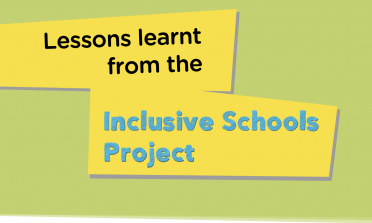 Cover of the Policy Report on Inclusive School Education