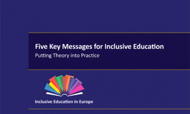 cover of the Five Key Messages for Inclusive Education report