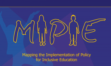 cover of the Mapping the Implementation of Policy for Inclusive Education summary report