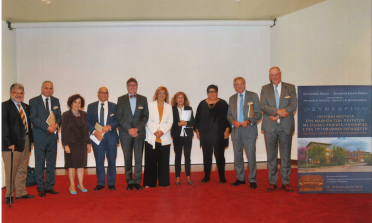 Keynote speakers and representatives of Patras University and the European Agency