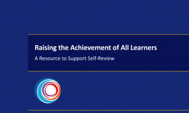 cover of the Raising the Achievement of All Learners: A Resource to Support Self-Review