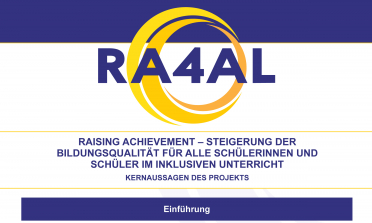 image of the Raising Achievement for All Learners Key Project Messages
