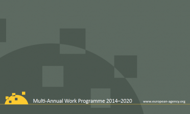 cover of the Multi-Annual Work Programme 2014–2020