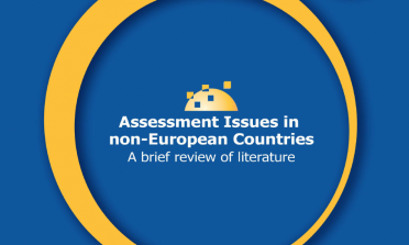 Front cover of the publication 'Assessment Issues in Non-European Countries: A Brief Review of Literature'