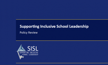 SISL policy review publication cover