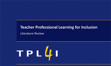 cover of the TPL4I literature review report