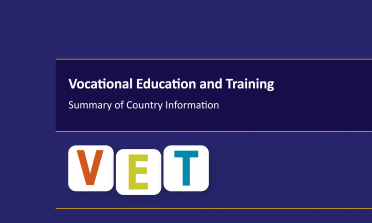 cover of the Vocational Education and Training – Summary of Country Information report