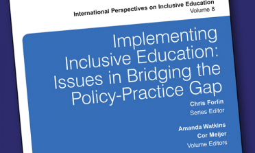 cover of the book Implementing Inclusive Education