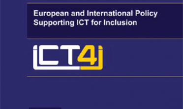 cover for the European and International Policy Supporting ICT for Inclusion report