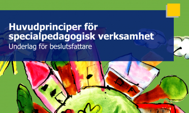 cover of the Key Principles in Special Needs Education – Recommendations for Policy-Makers report
