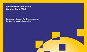 cover of the Special Needs Education Country Data 2008 document