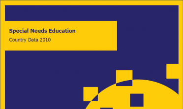cover of the Special Needs Education Country Data 2010 document
