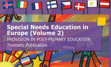 cover of the Special Needs Education in Europe (Volume 2) – Provision in Post-Primary Education report