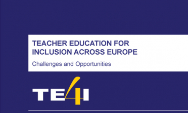cover of the Teacher Education for Inclusion Across Europe – Challenges and Opportunities report