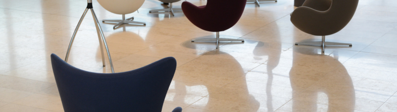 chairs in a conference hall