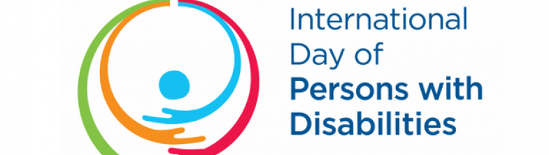 logo of 2018 International Day of Persons with Disabilities
