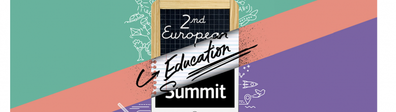 Screenshot of the European Education Summit website