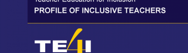 cover for the Teacher Education for Inclusion – Profile of Inclusive Teachers report