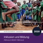 Cover of the German summary of the 2020 UNESCO GEM Report