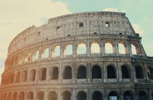 image of the Colosseum, Rome