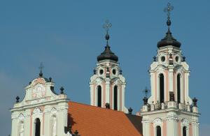 image of Buildings in Vilnius, Lithuania