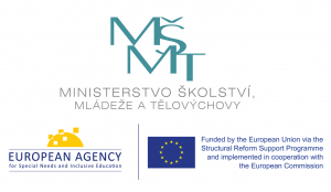 Logos of the Agency, the EU SRSS Programme and the Czech Republic's Ministry of Education, Youth and Sports