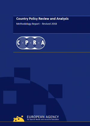 cover of the CPRA revised Methodology report