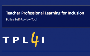 Cover of the TPL4I Policy Self-Review Tool