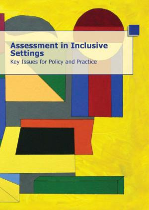 cover of the Assessment in Inclusive Settings – Key Issues for Policy and Practice report