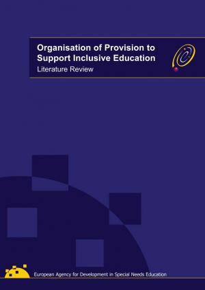 cover of the Organisation of Provision to Support Inclusive Education Literature Review