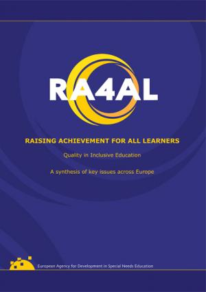 cover for the Raising Achievement for All Learners – Quality in Inclusive Education report
