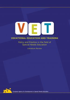 cover of the Vocational Education and Training: Policy and Practice in the field of Special Needs Education Literature Review