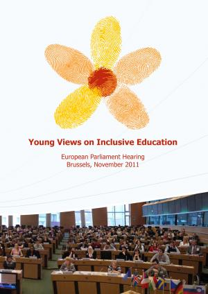 cover of the Young Views on Inclusive Education report